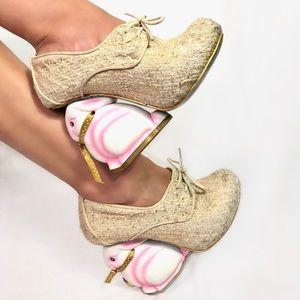 Irregular Choice Pink Bunny Heels TPIB